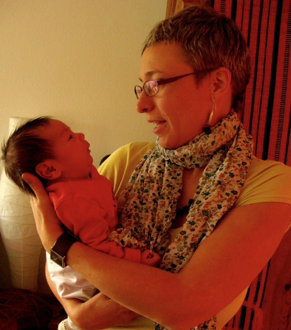 my midwife that paid house visits after birth